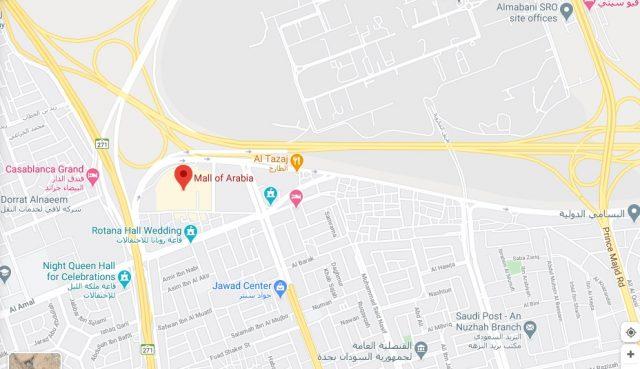 خريطة مجمع العرب جدة