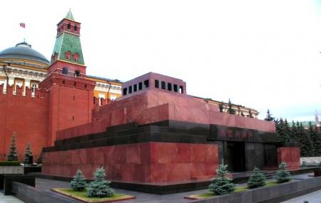 Lenin's Mausoleum at Red Square