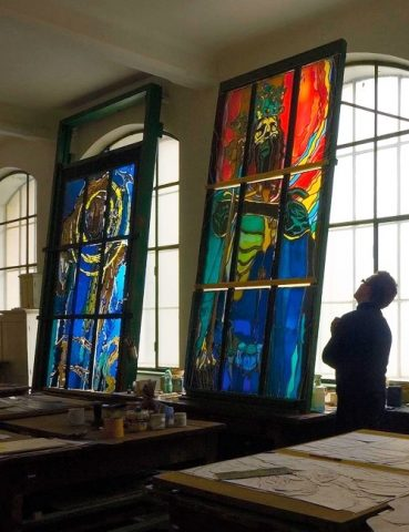 STAINED GLASS MUSEUM