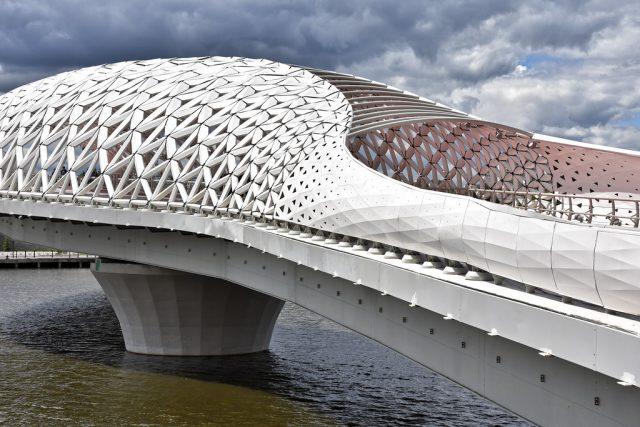 fish bridge astana