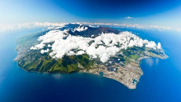 South-east coast of Reunion Island