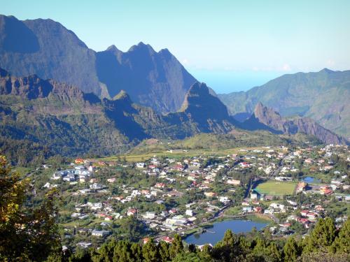 Village de Cilaos Réunion