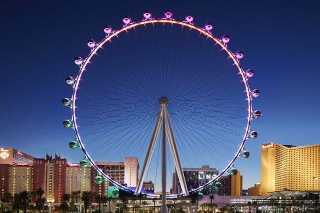 عجلة فيريس الأسطوانية العالية- السياحة في لاس فيغاس