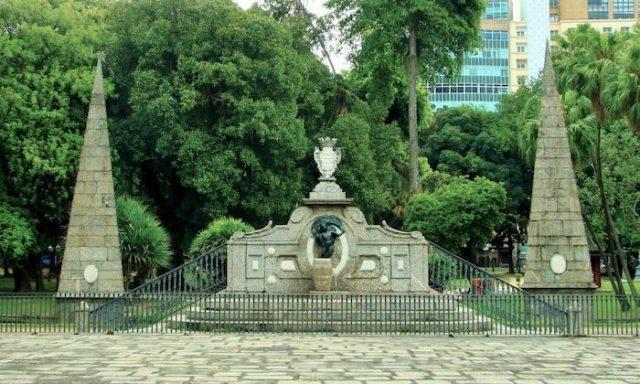 منتزه باسيو بوبليكو السياحة في ريو دي جانيرو