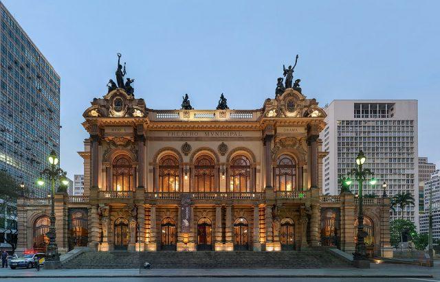 مسرح مونيسيبال السياحة في ساو باولو