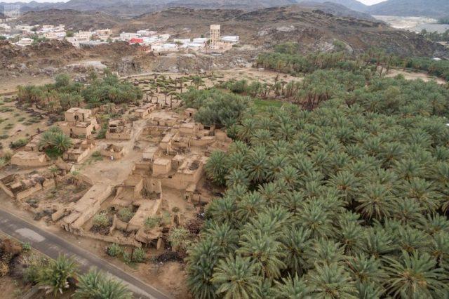 قرية تبالة في بيشة