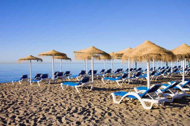 Bounty beach Marbella Spain