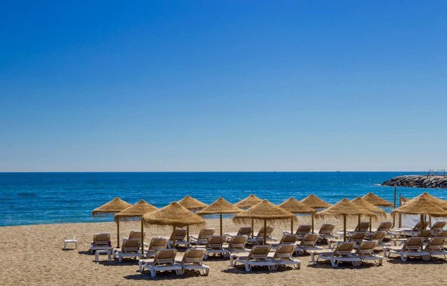 Cabopino Beach Marbella Spain