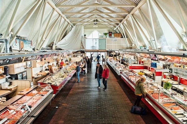 Fish market goteborg
