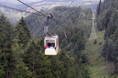Freiburg cable car