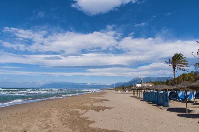 Playa Real de Zaragoza beach marbella spain
