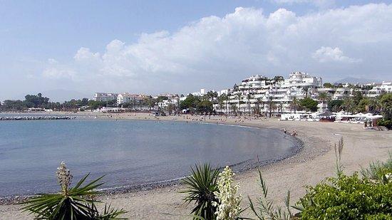 Playa de Levante beach Marbella Spain