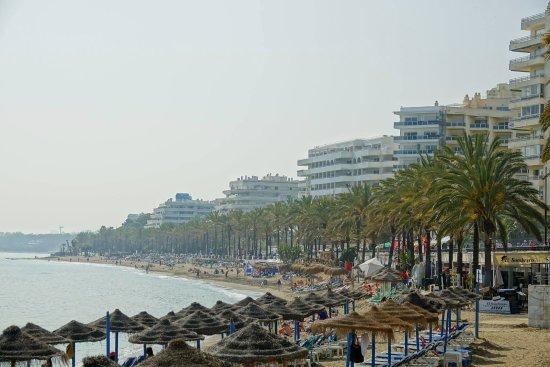 Playa de la Fontanilla beach Marbella Spain
