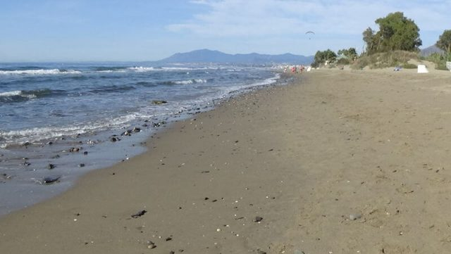 Playa del Alicate beach marbella Spain