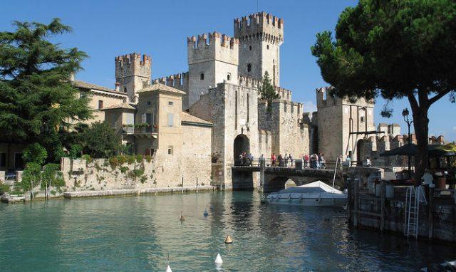 Sirmione and Rocca Scaligera Verona