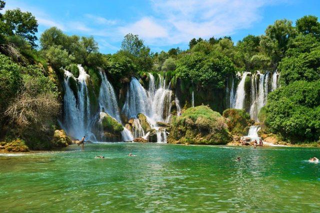 kravice waterfall mostar