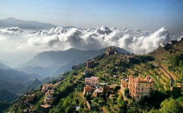 جبال فيفا صبيا بالمملكة
