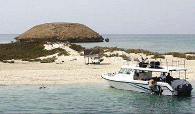 جزيرة جبل الليث في المملكة العربية السعودية