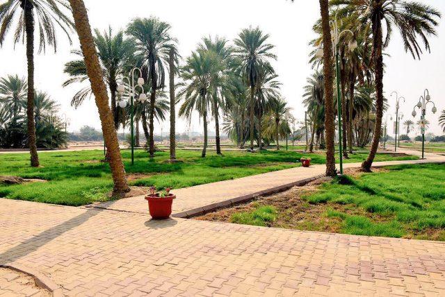 حديقة الكوشان الأثرية في الليث