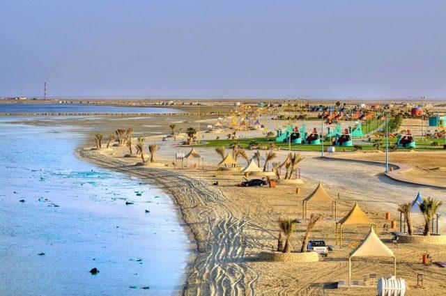 شاطئ العقير في الهفوف