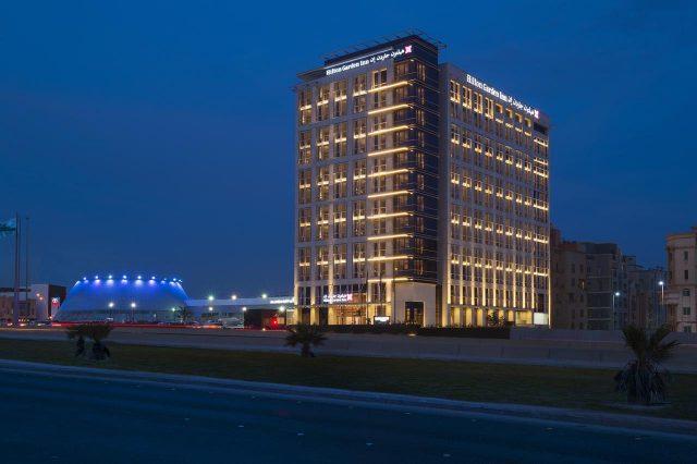 فندق هيلتون جاردان الخبر بالمملكة العربية السعودية