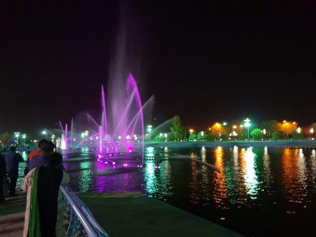 منتزه الملك عبدالله البيئي الهفوف