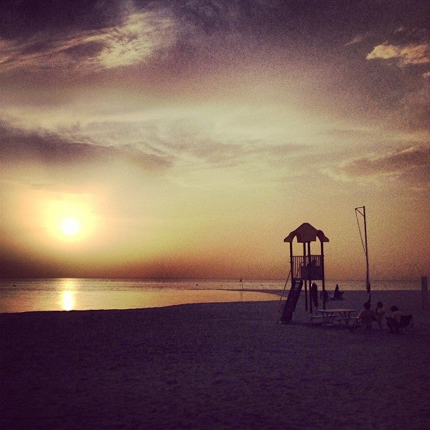 شاطئ هاف مون أرامكو السعودية