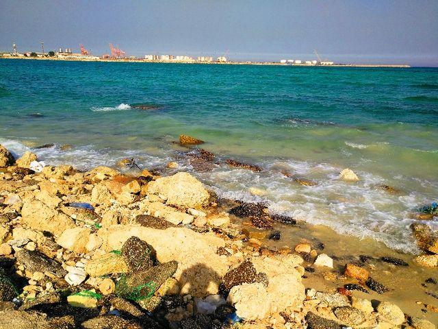 شاطئ الجبيل المملكة العربية السعودية