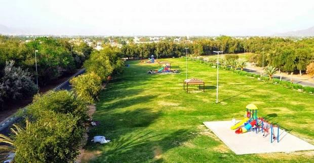 حديقة الملك فهد خميس مشيط