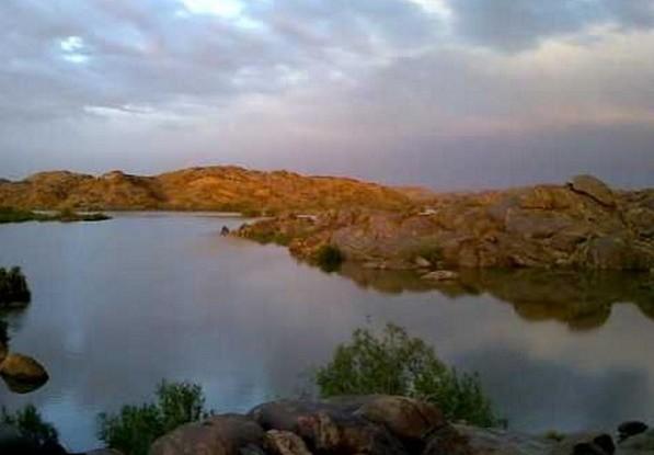 منتزه سد وادي تندحة