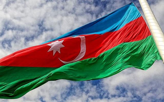 علم اذربيجان