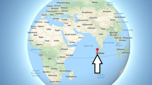 اين تقع ماليه على الخريطة