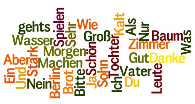 اللغة في قرية هالشتات