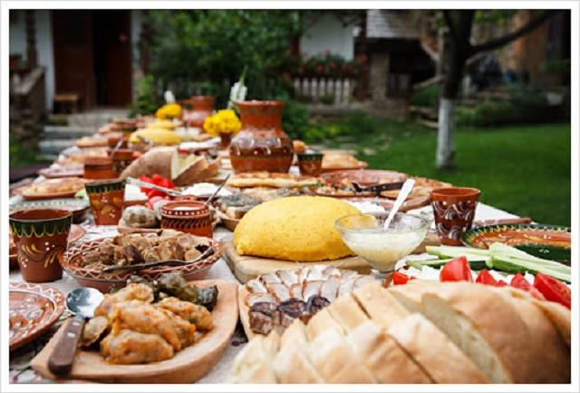 الطعام في رومانيا