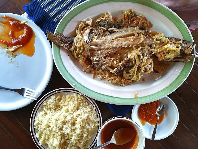 الطعام في ساحل العاج