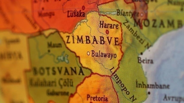 اين تقع زيمبابوي