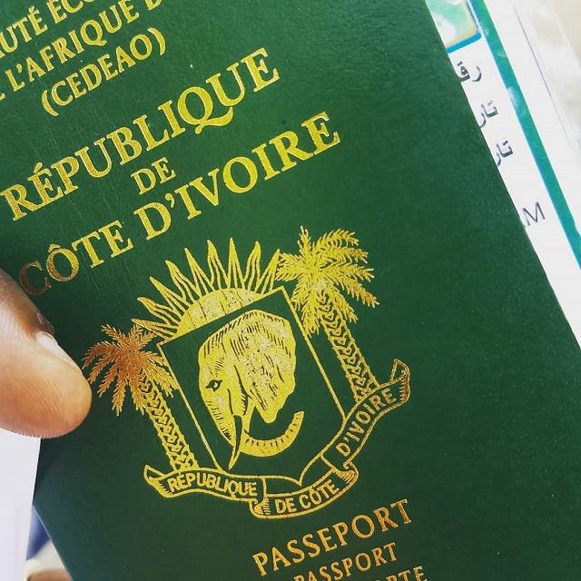تأشيرة ساحل العاج