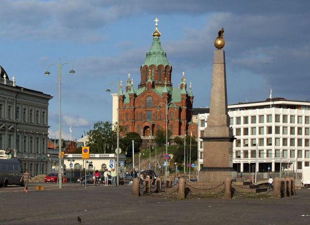 ساحة هلسنكي للتسوق