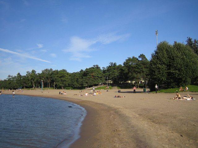 شاطئ Hietaniemi