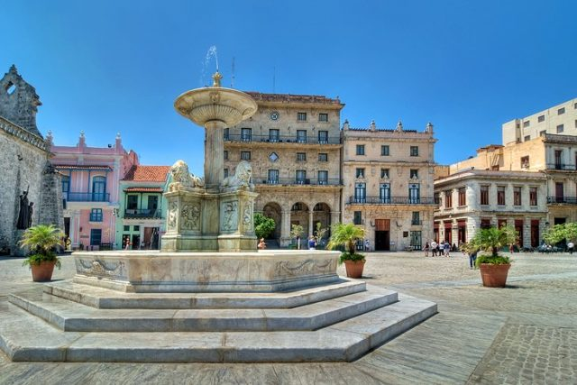 المدينة القديمة في هافانا