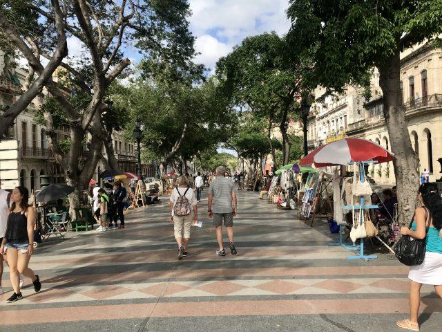 شارع Paseo del Prado