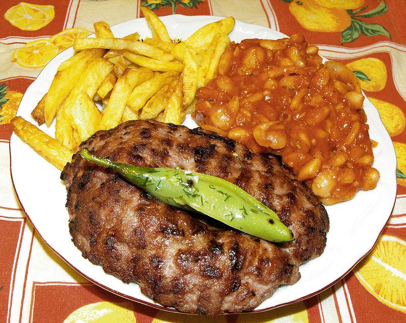 وجبة Pljeskavica
