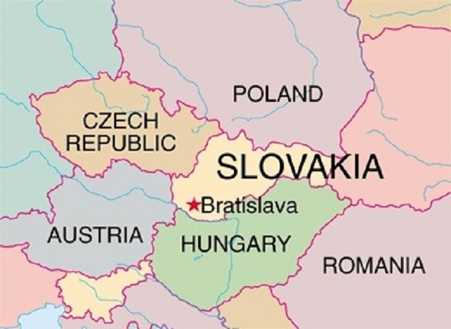 Where is Slovakia located