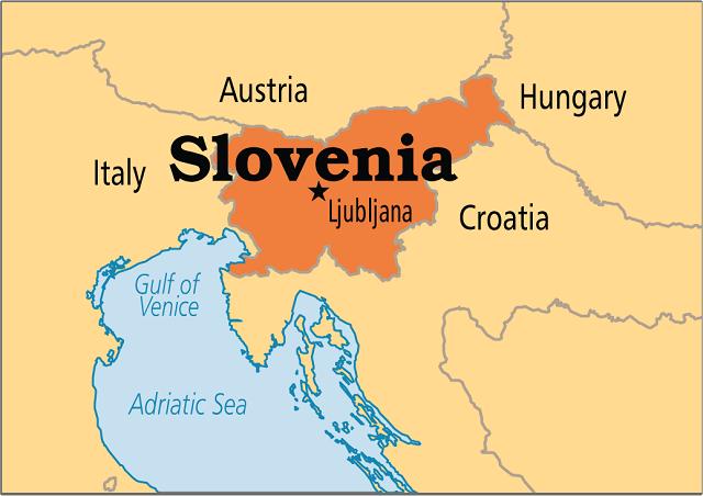 اين تقع سلوفينيا