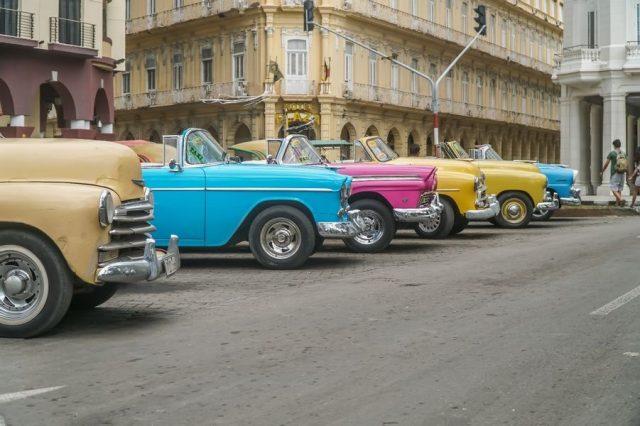 التنقل داخل هافانا