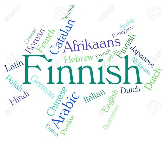 اللغة الفنلندية