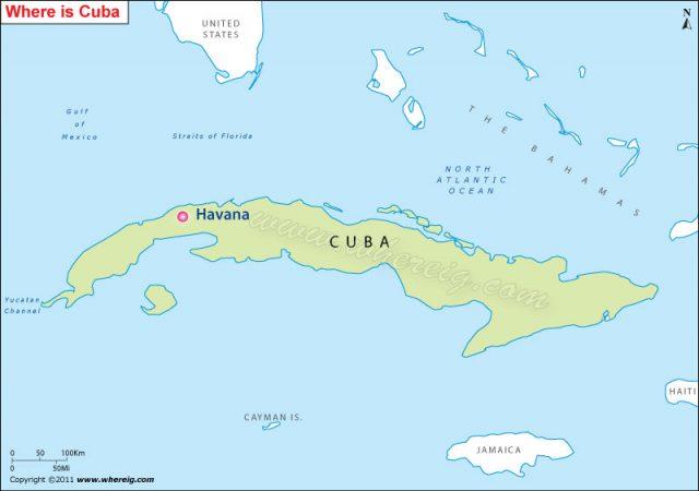 اين تقع هافانا