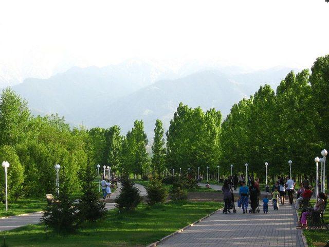 فصل الربيع في كازاخستان