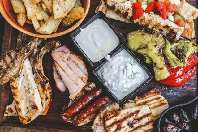 وجبات قبرص التقليدية