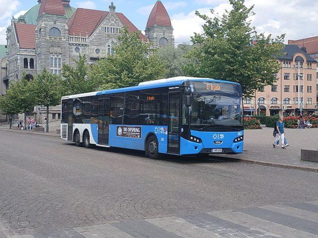 التنقل في مدينة هلسنكي
